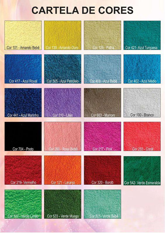 0271- Tecido de Felpa em Metro COLORIDO - Preço Direto da Fábrica  - Coisas de Brusque