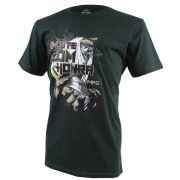 Camiseta MKS Combat #LuteComHonra Verde Musgo