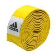 Faixa de Graduação adidas Judo/Karate - Amarela