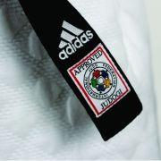 Faixa Elite Preta Judô Adidas Com Selo IJF (SELO VERMELHO)