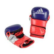Luva de MMA Sparring adidas - Azul/Vermelha