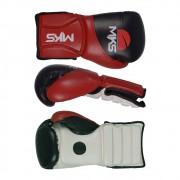 Luva Superior Coach Sparring Vermelha/Branco