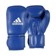 Luva de Boxe adidas AIBA Approved Couro Azul