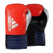 Luva de Boxe adidas Hybrid 65 - Vermelho/Azul