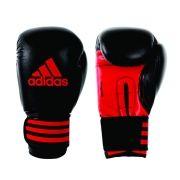 Luva de Boxe e Muay Thai adidas Power 100 - Preta/Vermelha