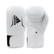 Luva de boxe e kickboxing adidas Speed 175 White Couro