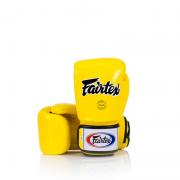 Luva de Boxe e Muay Thai Fairtex Amarela