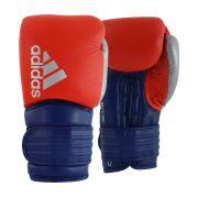 Luva de Boxe Muay Thai adidas Hybrid 300 Vermelho/Azul