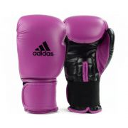 Luva de Boxe Muay Thai adidas Power 100 Colors Rosa/Preta