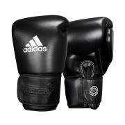 Luva de Muay Thai adidas Couro Black Pro Thai
