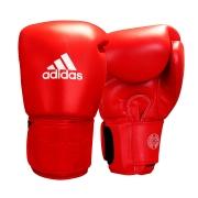 Luva de Muay Thai adidas Couro Red Pro Thai