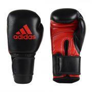 Luva Kick Boxing Adidas KPOWER 300 Preto/Vermelho