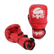 LUVA MMA Sparring MKS Vermelha/Branca