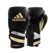 Luvas de boxe e kickboxing adidas Adi-Speed 501 Pro Black