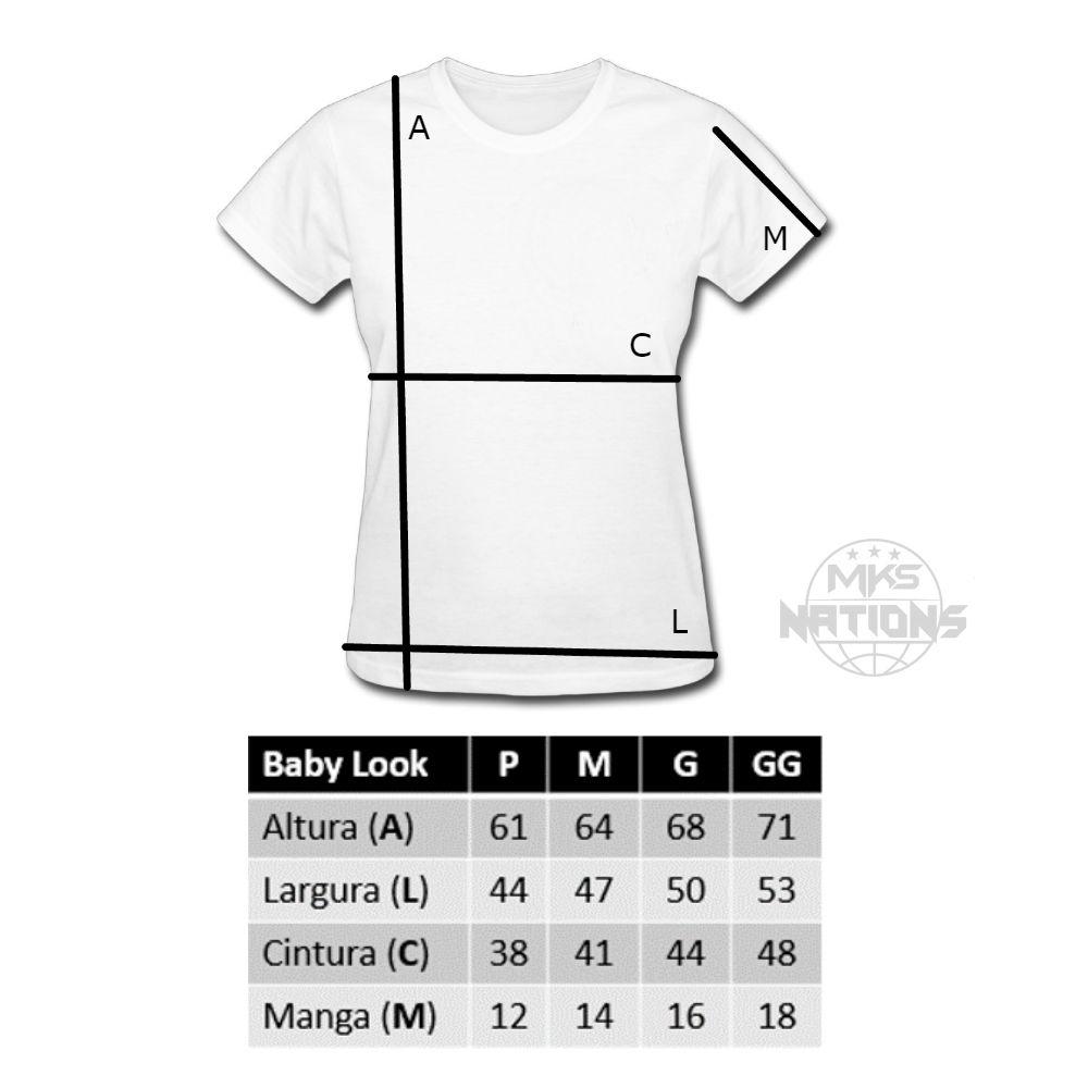 Camiseta MKS Feminina GRL PWR