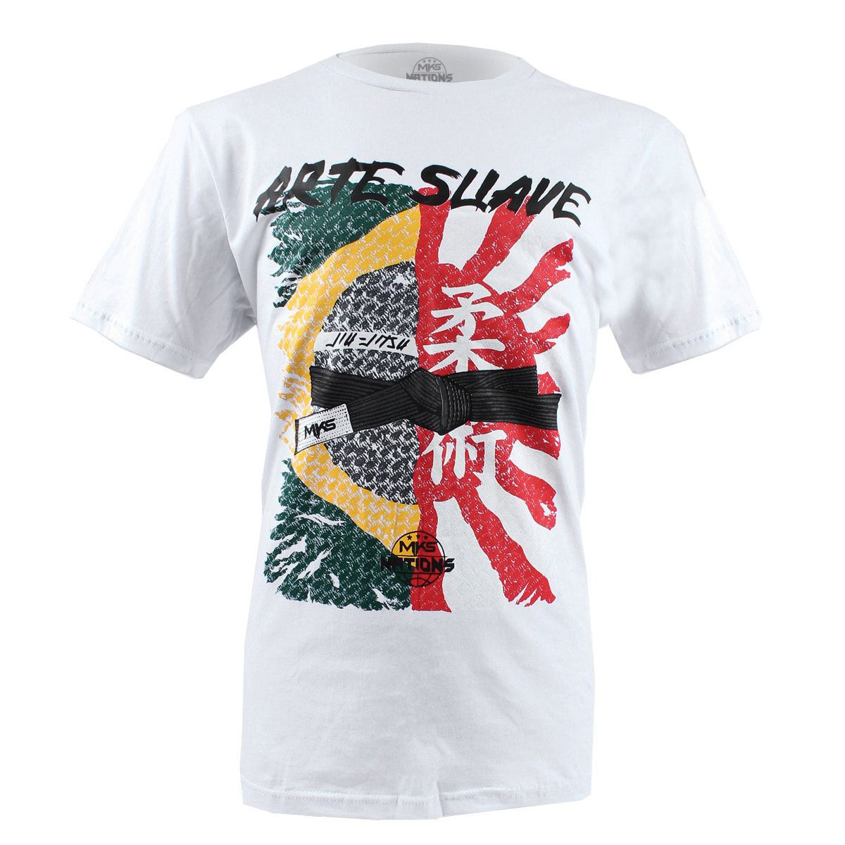 Camiseta MKS Nations Arte Suave
