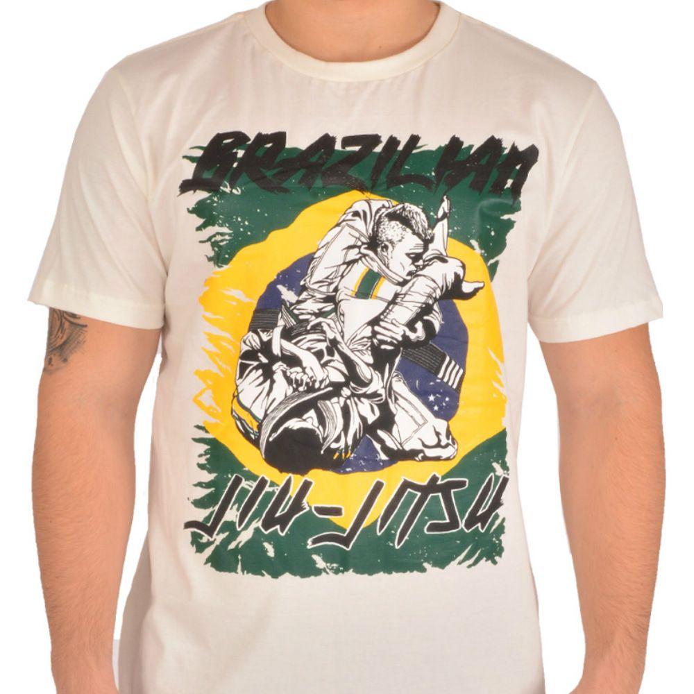 Camiseta MKS Nations Brazilian Jiu-Jitsu