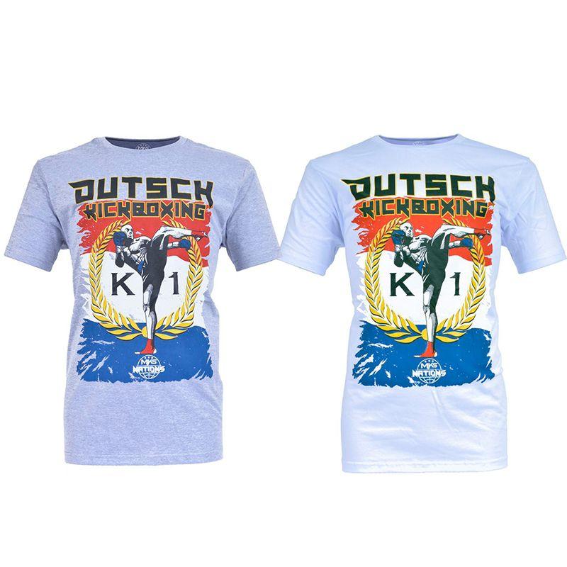 Camiseta MKS Nations Dutch Kickboxing
