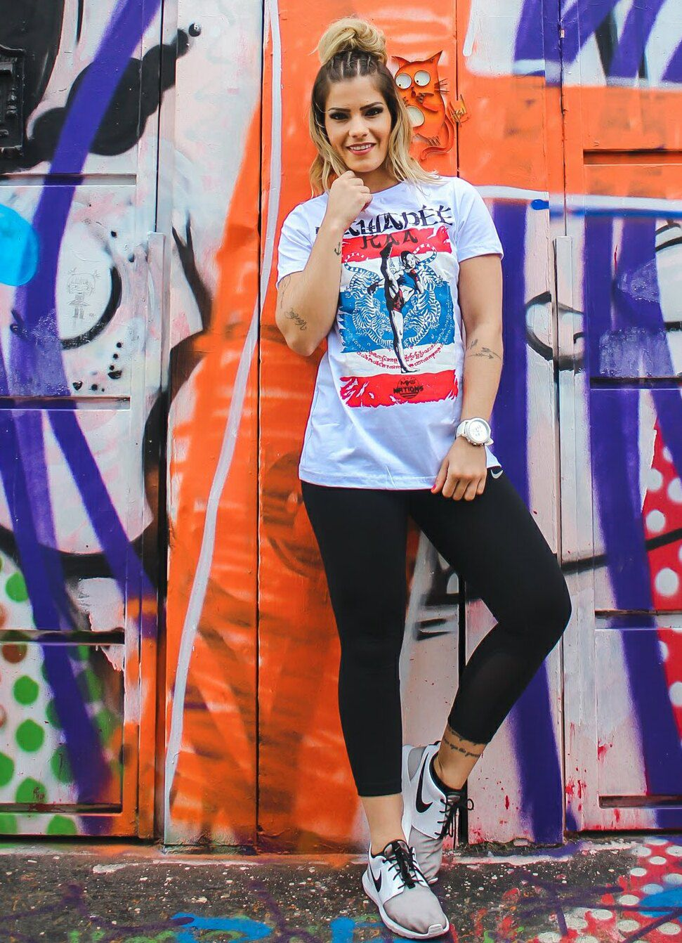 Camiseta MKS Feminina Muay Thai Tailândia