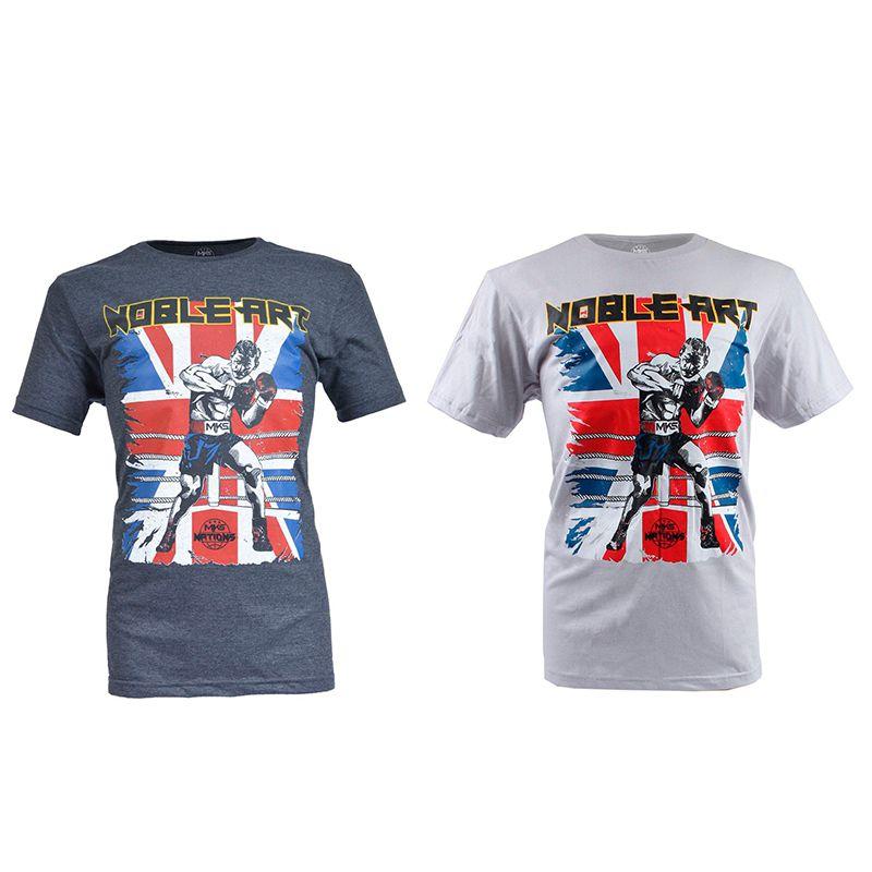 Camiseta MKS Nations Noble Art