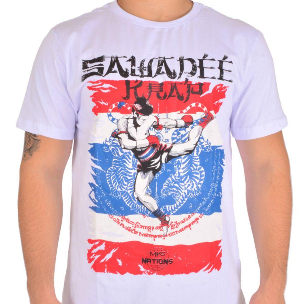 Camiseta MKS Muay Thai Tailândia