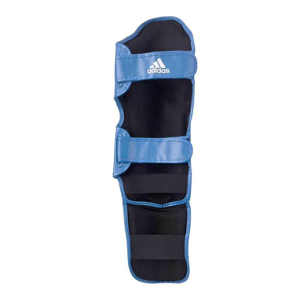 Caneleira adidas Kick Boxing WAKO Approved Azul