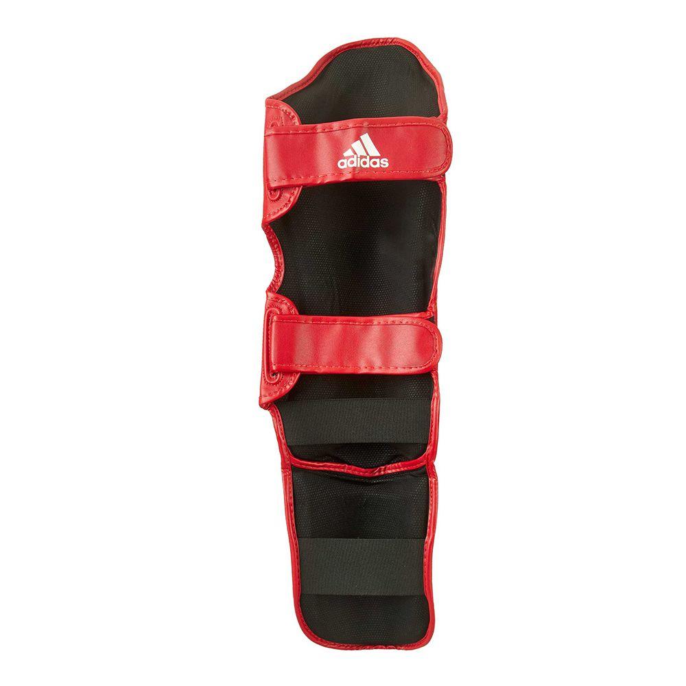Caneleira adidas Kick Boxing WAKO Approved Vermelha