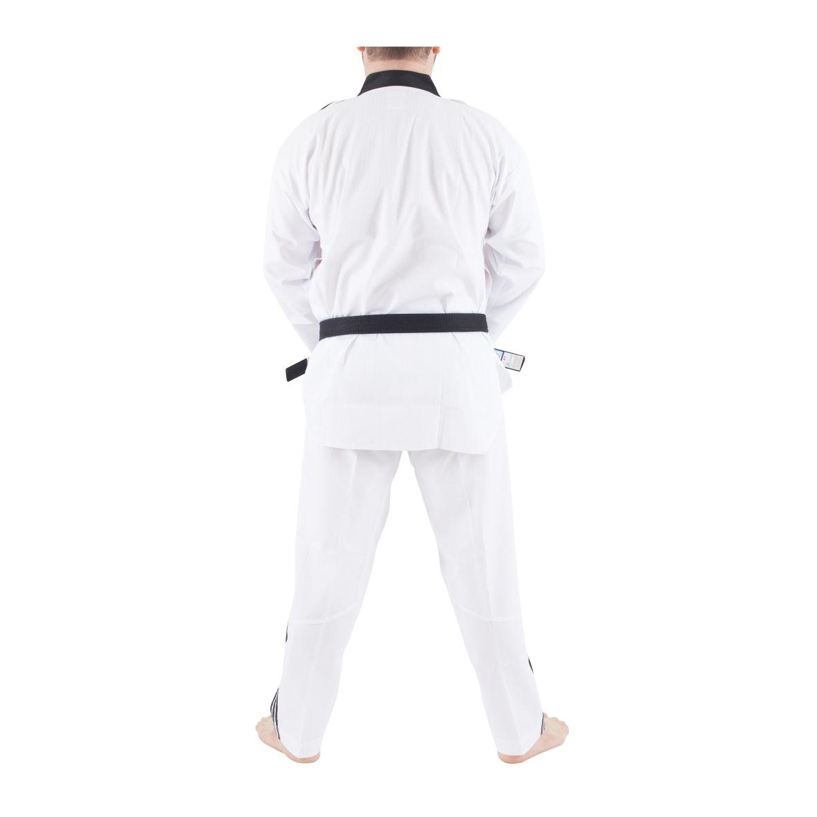 Dobok Adidas ADI CLUB WTF (World Taekwondo Federation) Gola Preta