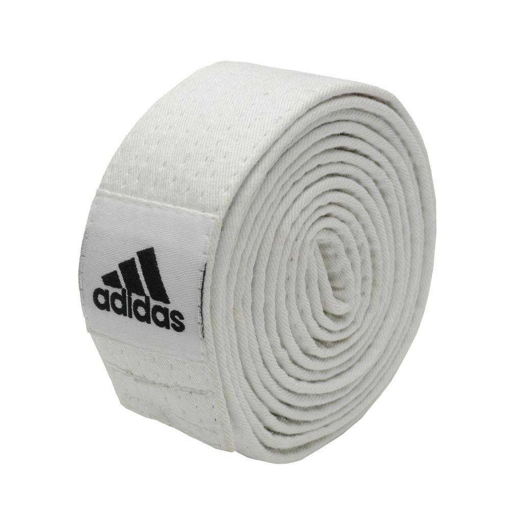 Faixa de Graduação adidas Judo/Karate - Branca