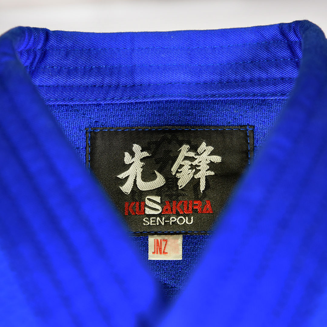 Judogui Kimono Judo Kusakura JNZ Azul IJF Approved 100% Algodão