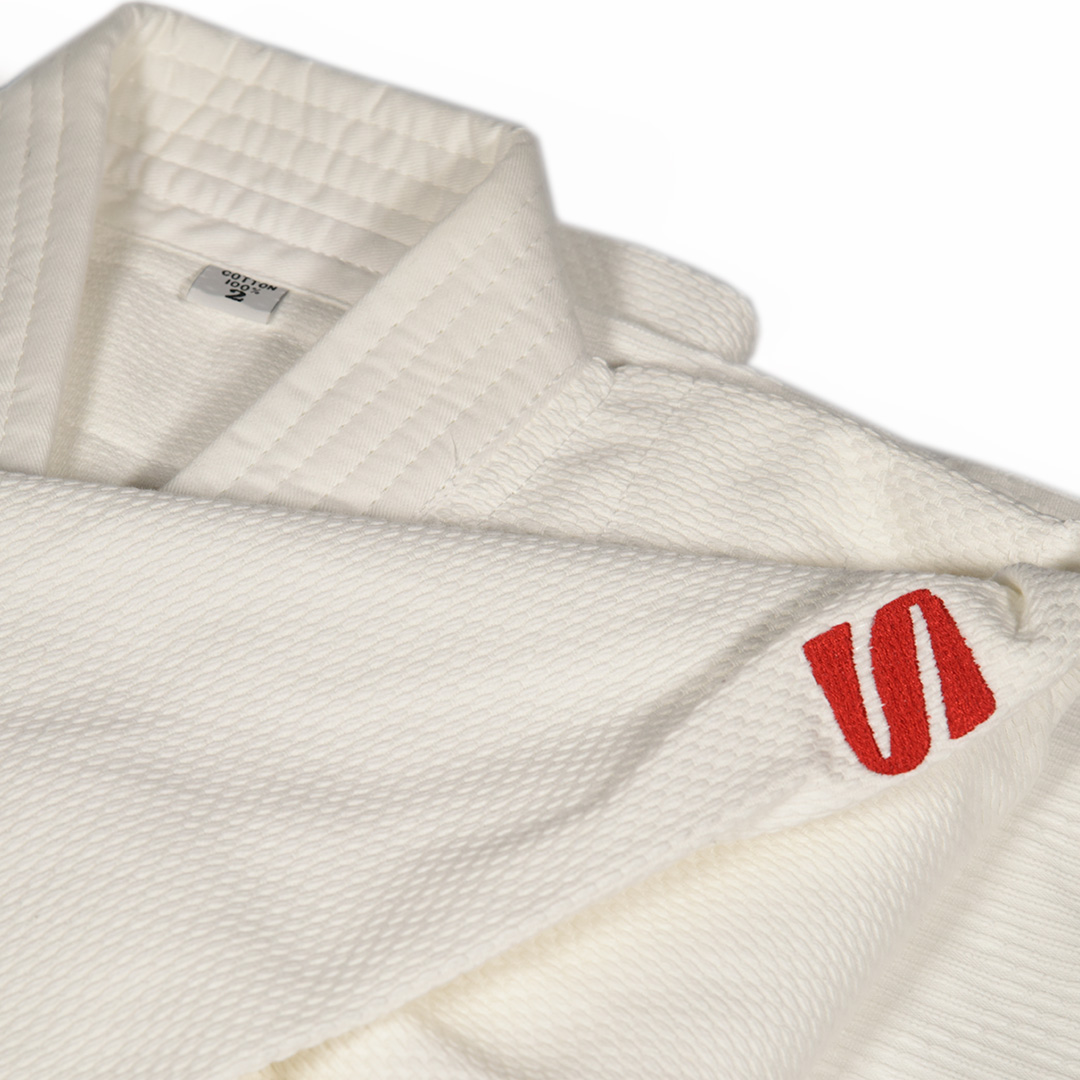 Judogui Kimono Kusakura JKW Branco 100% Algodão Sem Selo IJF Approved