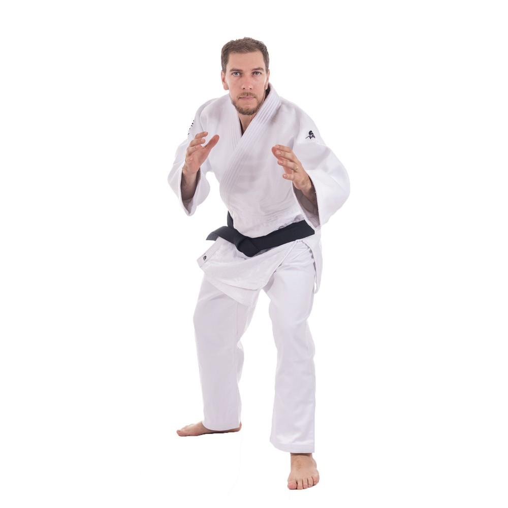 Kimono Judô MKS Extra Heavy - Branco