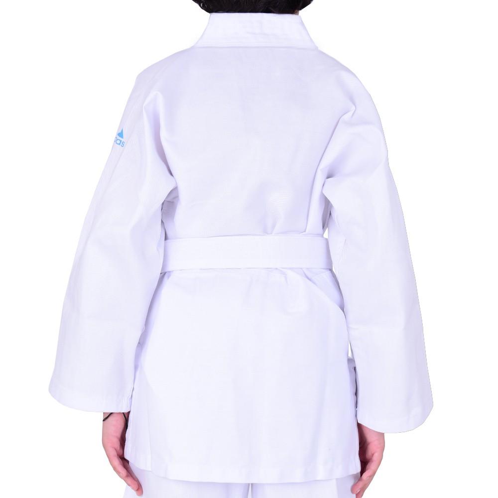 Kimono Judô adidas Infantil Branco com faixa inclusa