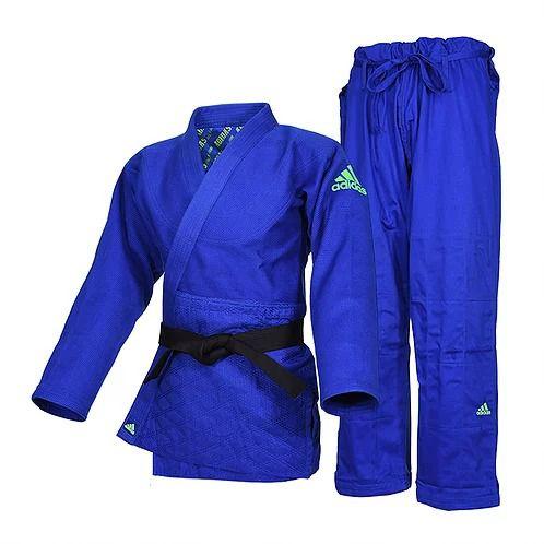 Kimono Judô adidas J990 Millenium Azul/Verde