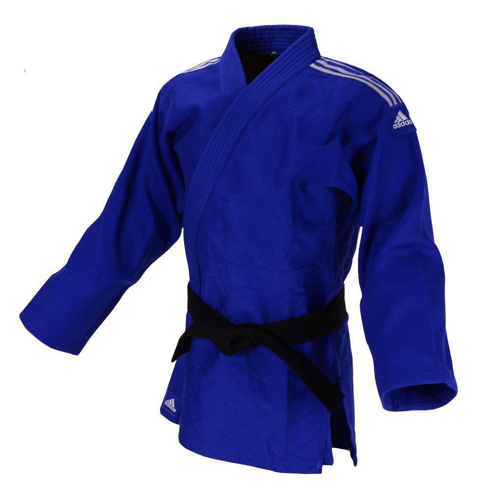 Kimono Judô adidas Quest J690 Azul/Branco