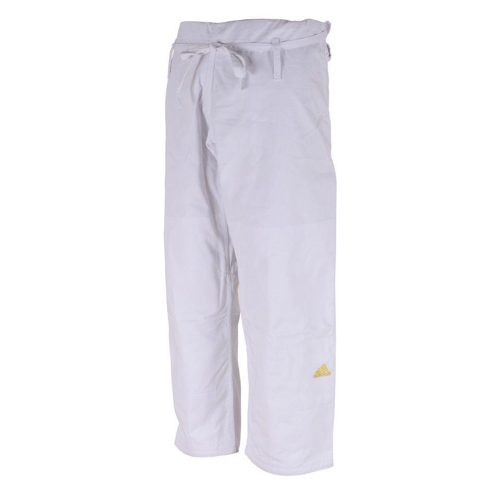 Kimono Judô adidas Quest J690 Branco/Dourado
