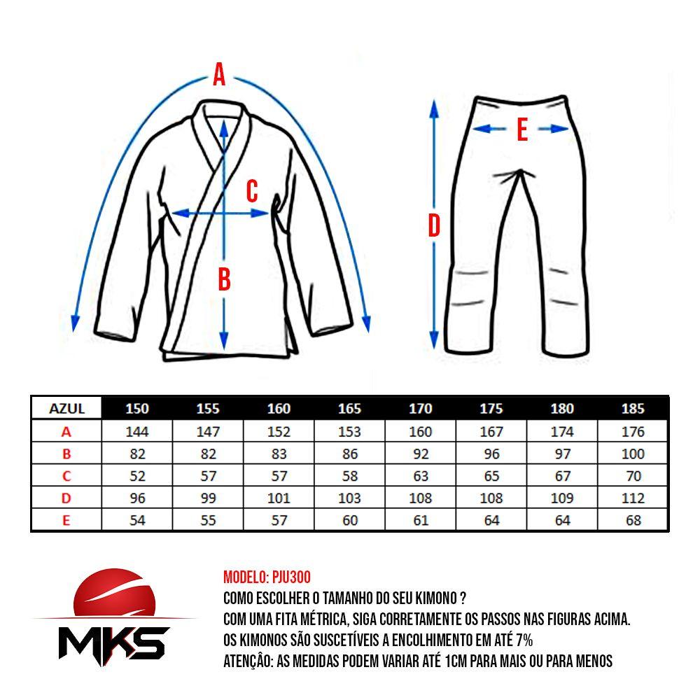 Kimono Judô MKS Extra Heavy