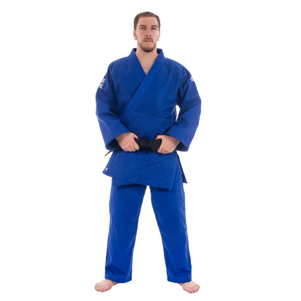 Kimono Judô MKS Extra Heavy Azul