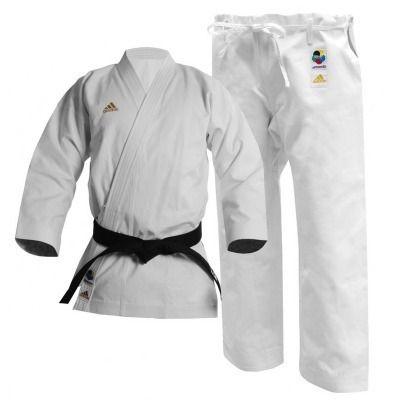 Kimono Karatê adidas Champion K460E para Kata com selo WKF