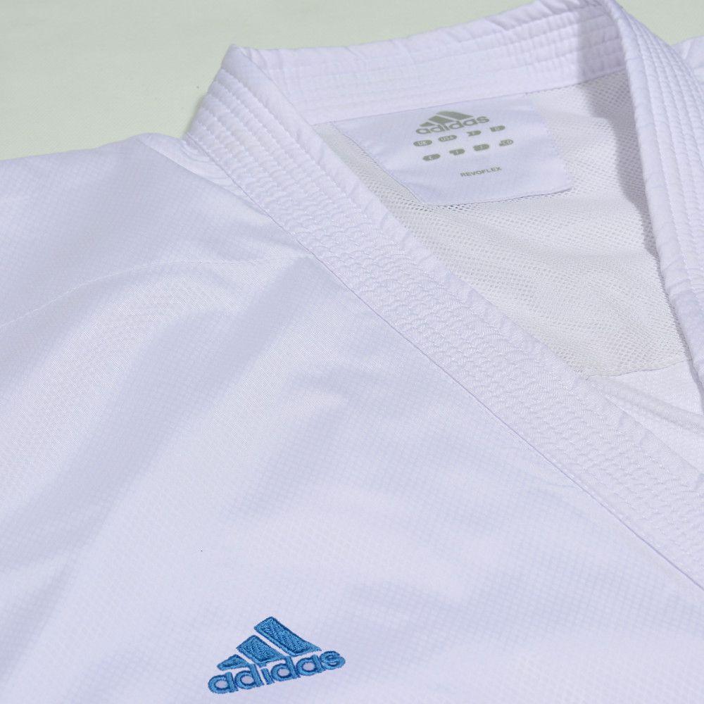 Kimono Karatê Revoflex Adidas com Selo WKF