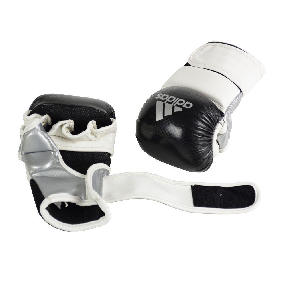 Luva de MMA Sparring adidas Preta/Branca