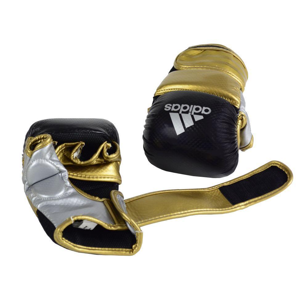 Luva de MMA Sparring adidas Preta/Dourada