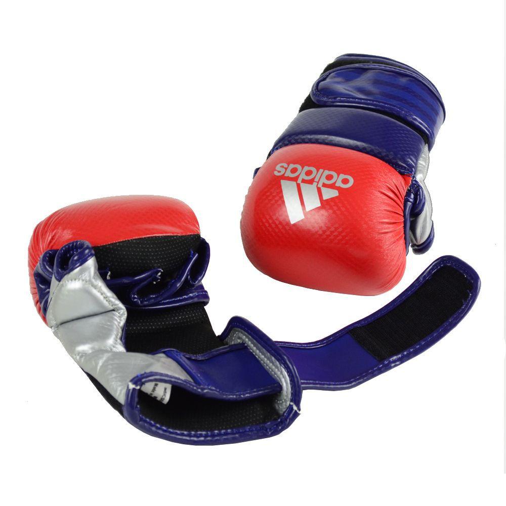 Luva de MMA Sparring adidas Vermelha/Azul