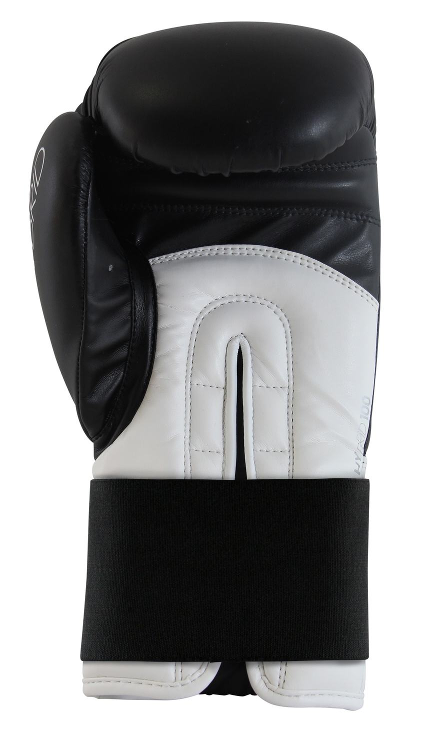Luva de Boxe adidas Hybrid 100 Preta/Branca