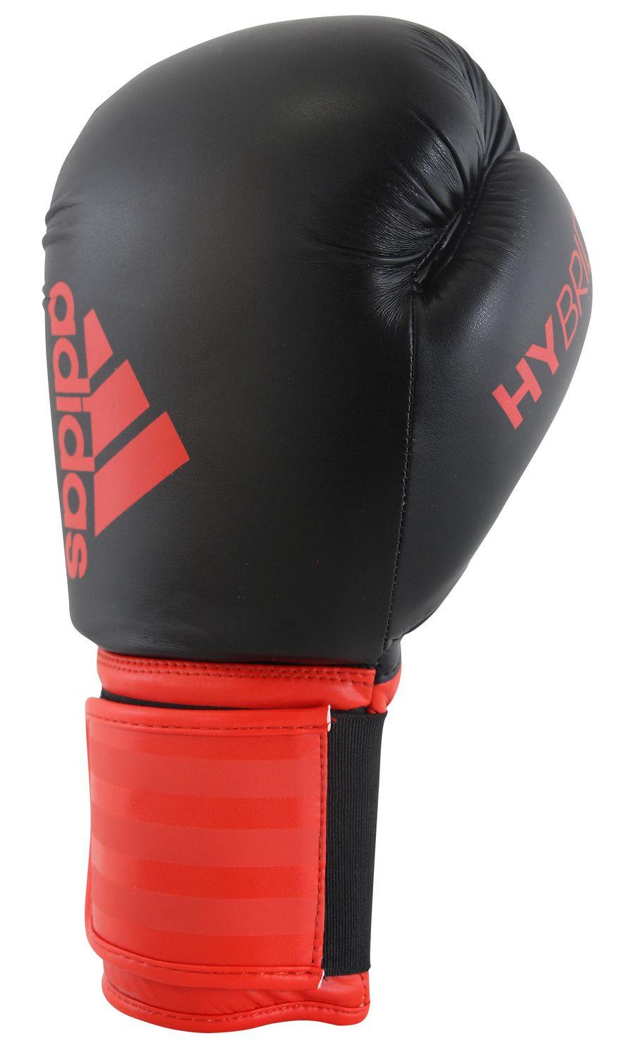 Luva de Boxe Adidas Hybrid 100 Red/Black