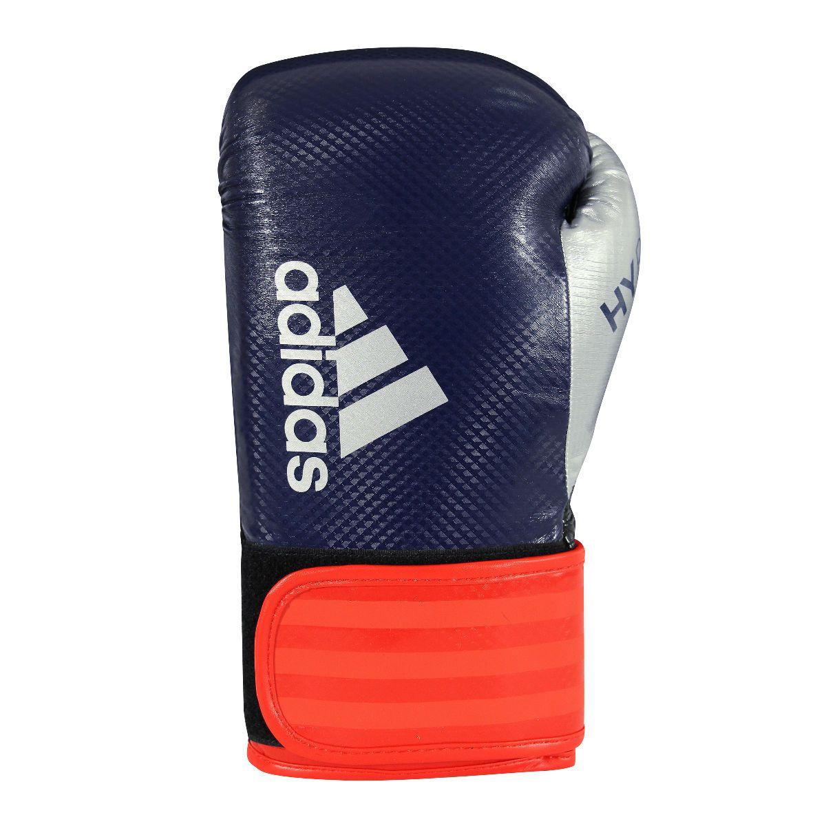 Luva de Boxe Adidas Hybrid 65 Azul/Vermelho