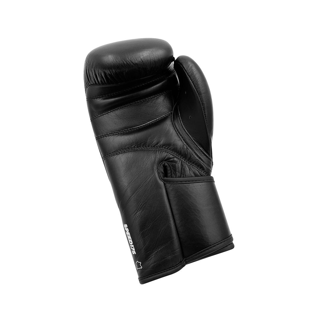 Luva de boxe e kickboxing adidas Speed 175 Black Couro