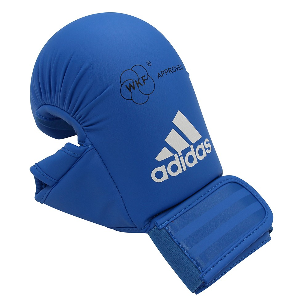 Luva de Karatê adidas Competition Azul - Selo WKF
