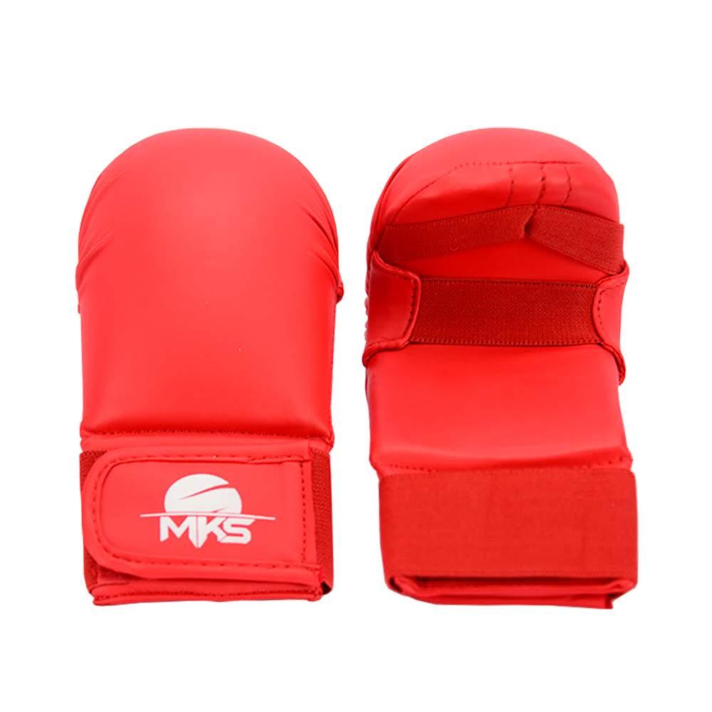 Luva de Karatê MKS Vermelha - Modelo 2019/20