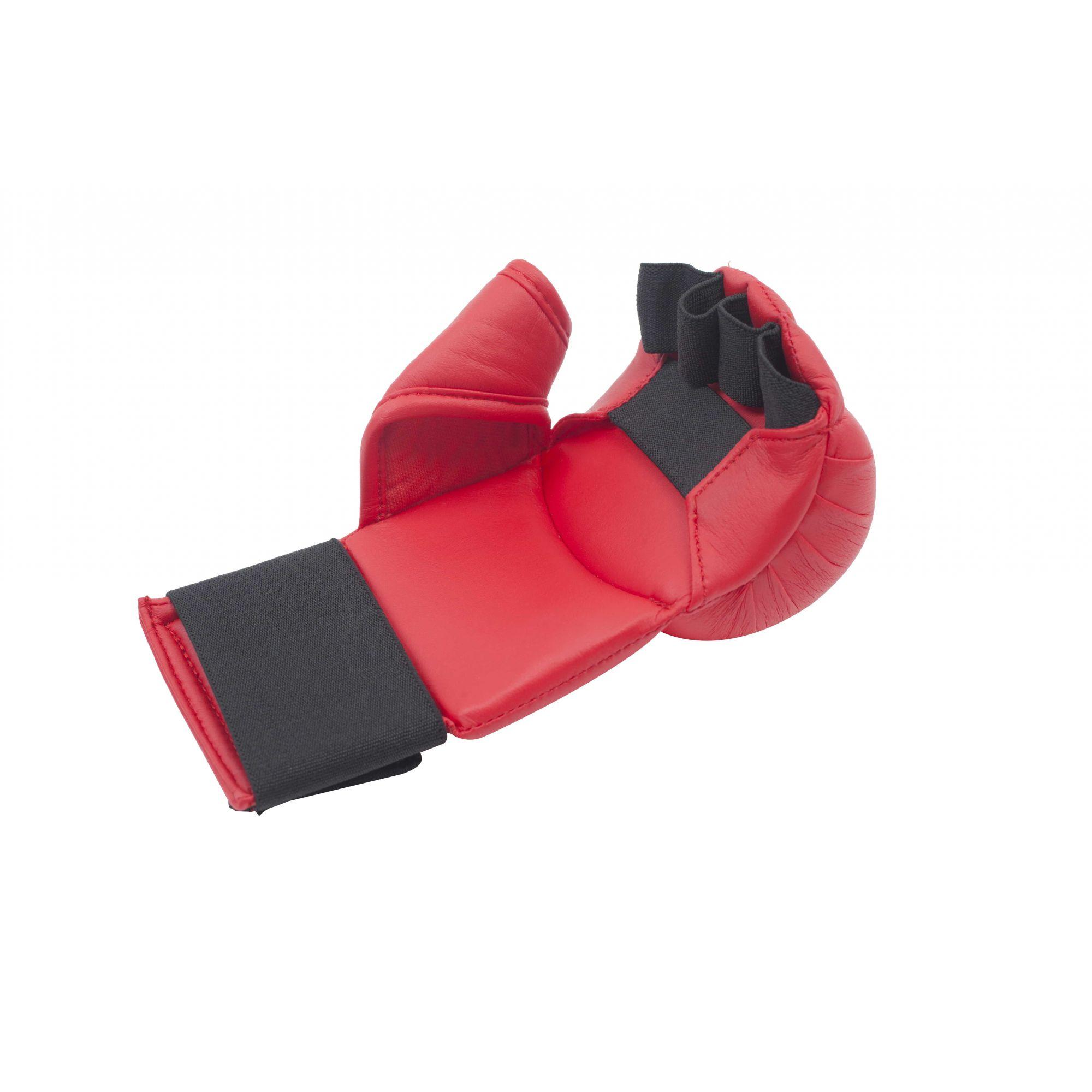 Luva de Karatê MKS Vermelha - Modelo 2018